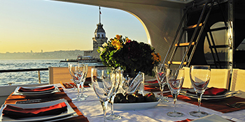 Private Dinner Cruise on Private Yacht