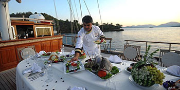 Private Lunch Cruise on a Luxury Yacht Istanbul