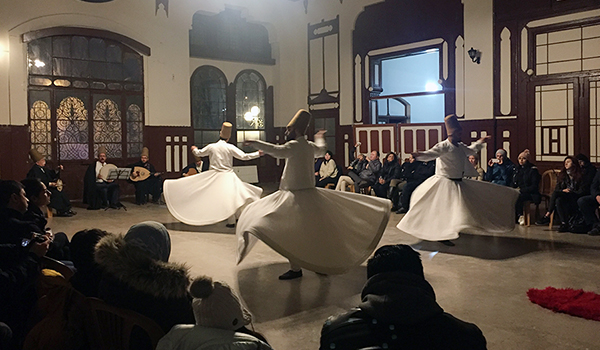 whirling dervish show